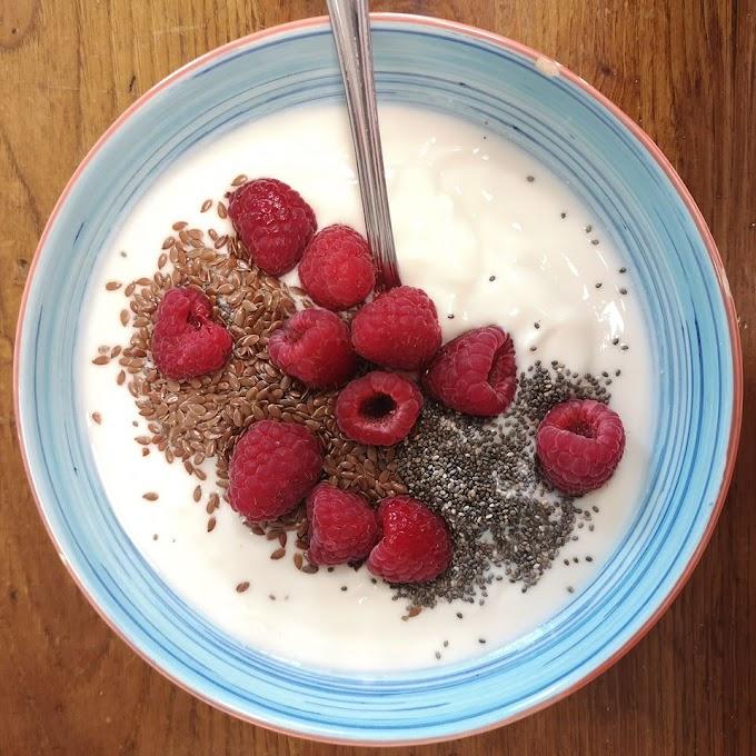 Un buen desayuno.vegano proteico con mucho calcio
