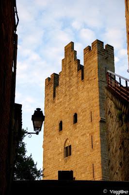 Scorcio medioevale della splendida cittadella