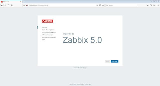 cara, install, zabbix, 5.0, di, centos, 8