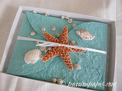 Starfish Wedding Invitation Kit Ideas