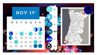 Calendário Mensal - - - Novembro