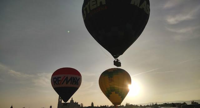 Vuelo globo Segovia Aerotours