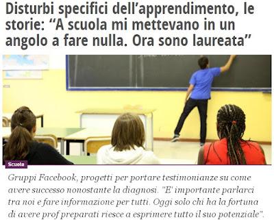 http://www.ilfattoquotidiano.it/2016/03/15/disturbi-specifici-dellapprendimento-le-storie-a-scuola-mi-mettevano-in-un-angolo-a-fare-nulla-ora-sono-laureata/2520703/