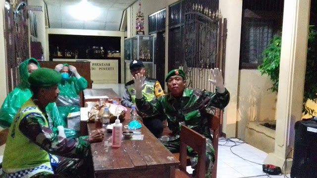 Kodim Sragen - Pulang Dari Bali, Siswa SMA N Sambungmacan Jalani Screening Antisipasi Corona
