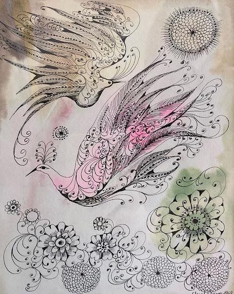 Dibujo sin titulo, 1968