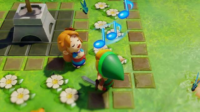 Link's Awakening (Switch): Ballad of the Wind Fish ganha letra em inglês no novo trailer do game