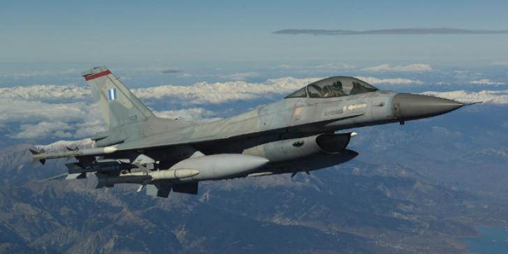 Μαχητικά F-16 πάνω από την Ξάνθη για την 28η Οκτωβρίου