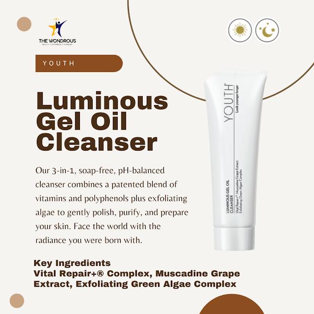Luminous Gel Oil Cleanser