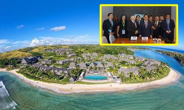 Senadores gastan más de 2 mdp en lujoso viaje a las islas Fiji.
