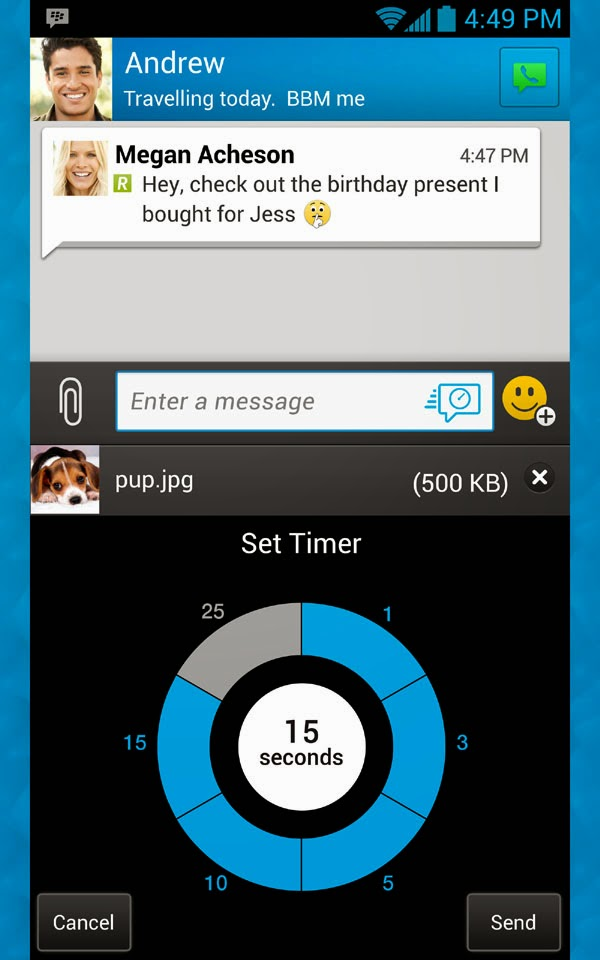 BlackBerry Messenger (BBM) for Android now available on Amazon Appstore