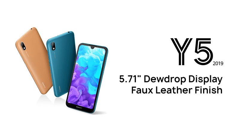 Huawei Y5 2019 with 5.7-inch dewdrop screen released