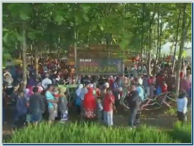 Pasar Doplang Kabupaten Wonogiri Jawa Tengah