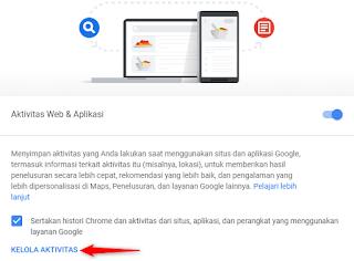 Cara Menghapus Riwayat Aktifitas Di Google Secara Otomatis Cara Menghapus Riwayat Aktifitas Di Google Secara Otomatis