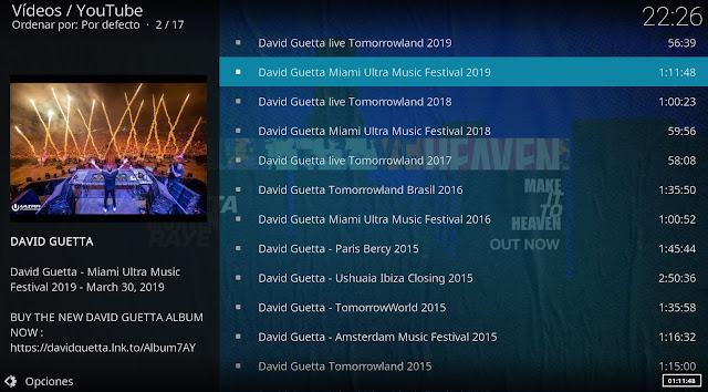 kodi david guetta dance music
