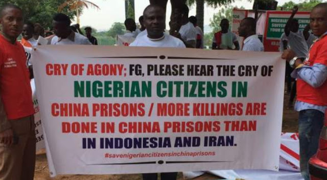 nigerian citizens china prisons