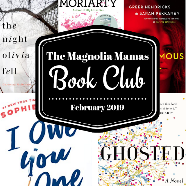 Book Club Selections for February 2019