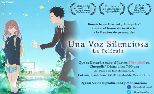 Frases de la película Koe no katachi (A silent voice)