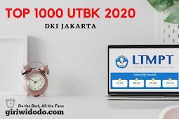 Top 1000 sekolah terbaik UTBK 2020 DKI Jakarta