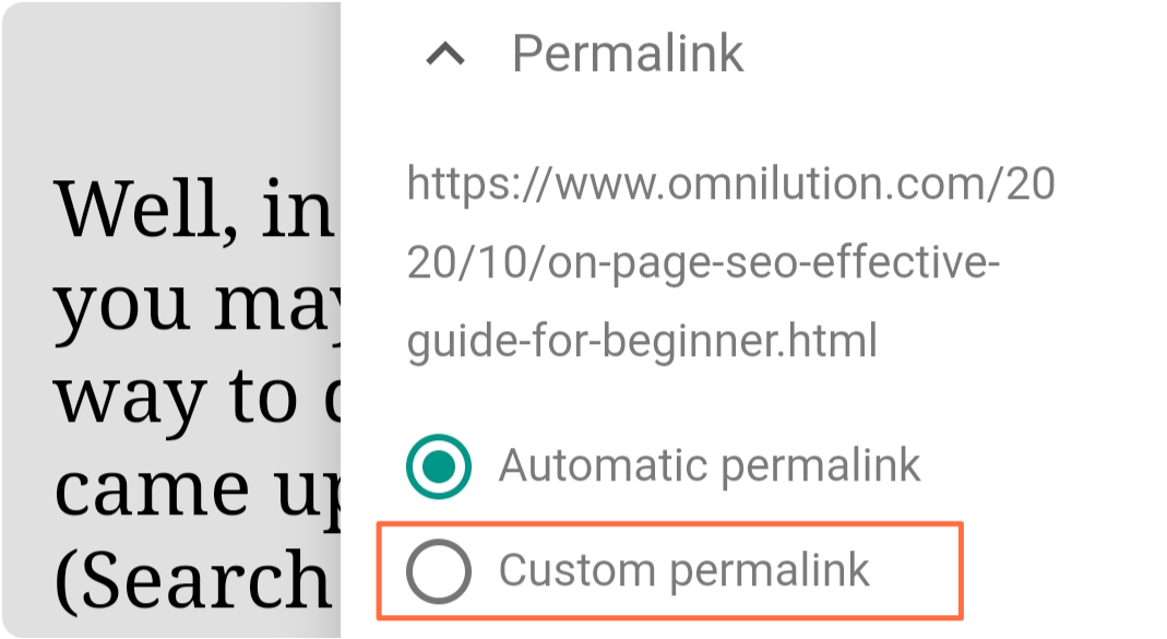 blogger-custom-permalink