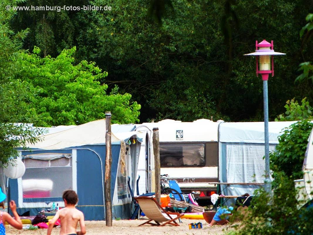 Hamburg Campingplatz, Camping im Elbecamp