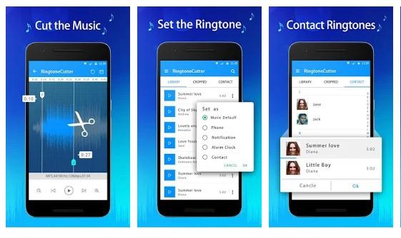 Aplikasi Cara Buat Nada Dering di Hape Android - Aplikasi Cara Buat Nada Dering Ringtone Cutter