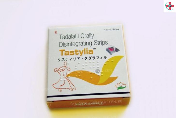 Tadalafil orally disintegrating strips