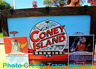 Coney Island Brewing Company Mermaid Pilsner and Freaktoberfest at Blues, Brews and Botany New York Botanical Garden NYBG Fall 2017