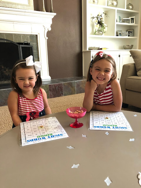 Sight Word Bingo-Summer Activities & Toys