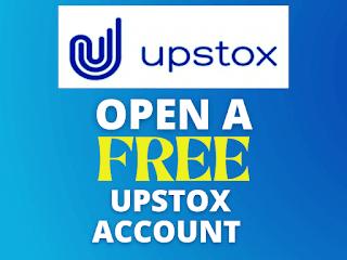 Upstox free account opening