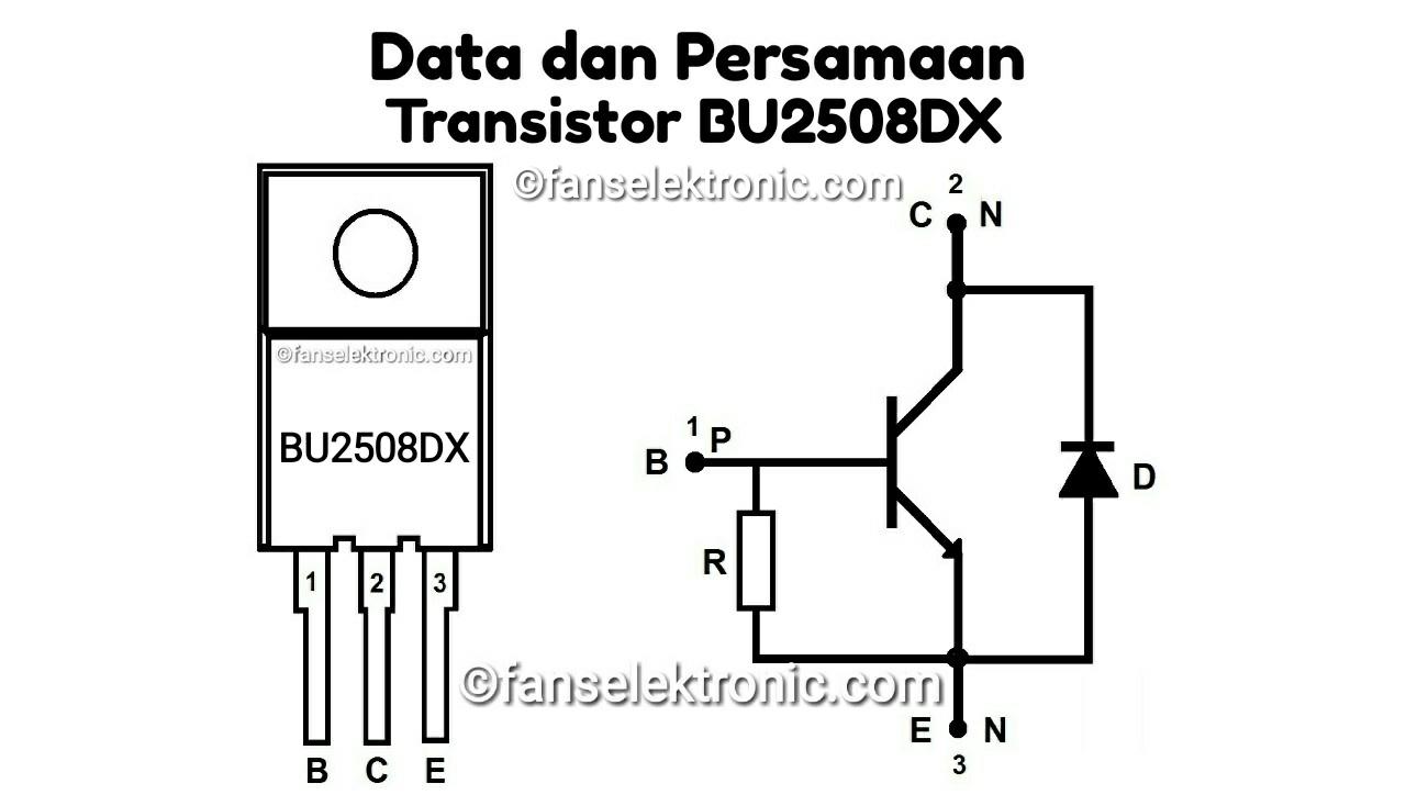 Persamaan Transistor BU2508DX