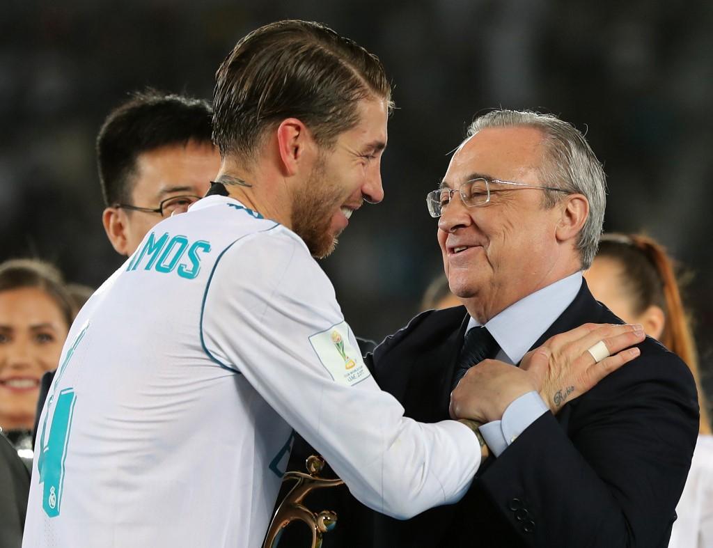 رئيس ريال مدريد وراموس