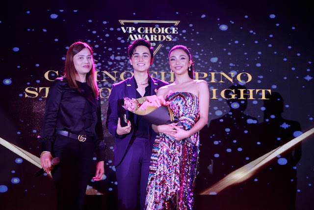 Casino Filipino awards Maymay Entrata and Edward Barbers
