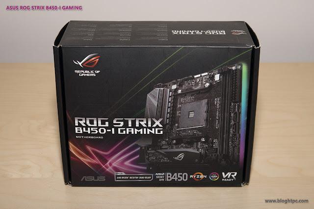 ASUS ROG STRIX B450-i GAMING
