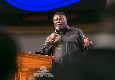 """#WC2018: Bishop Mike Okonkwo [@drmikeokonkwo] Quotes On The Message: """"The Transforming Power of God's Word."""""""
