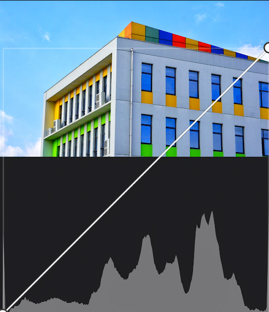 How to understand the histogram of a digital camera?