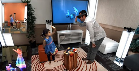 The best real-time example of Mixed Reality (MR)
