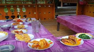 rumah makan pondok paranginan jembatan merah kayu laut madina