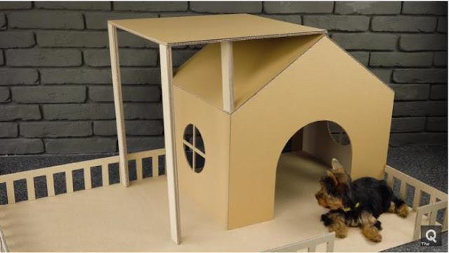 Nhà mini siêu dễ thương cho cún cưng