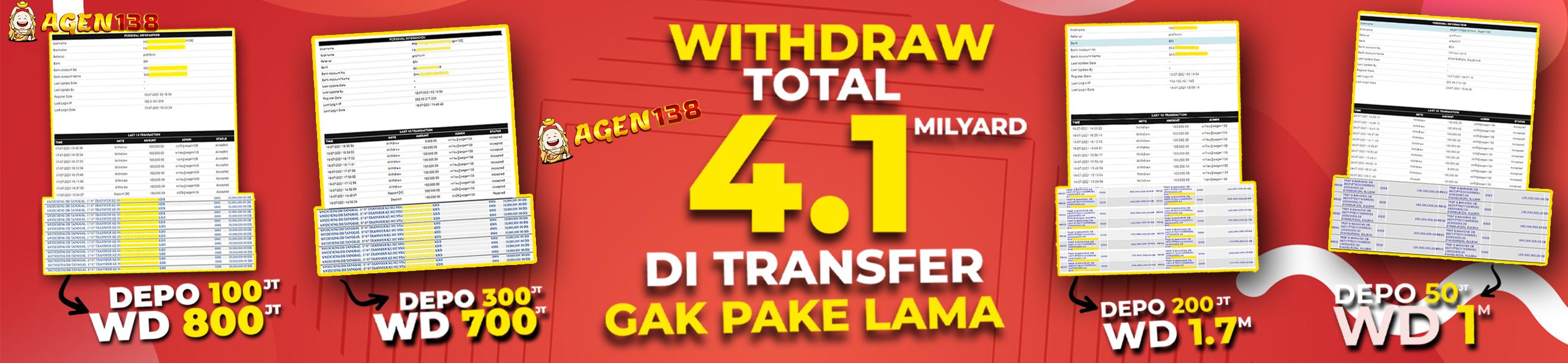 Withdraw 4 Miliar