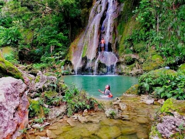 Air Terjun Rumpang Rumeneng Wisata Baru Di Lombok Tengah