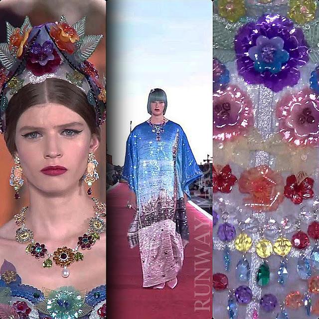 Dolce Gabbana Alta Moda Venezia 2021 RUNWAY MAGAZINE