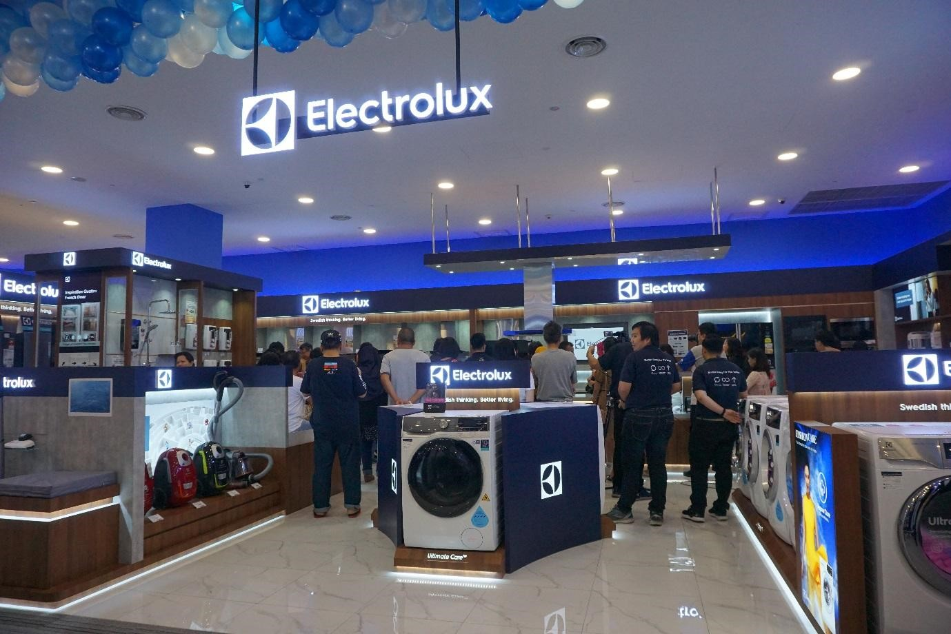 Electrolux Grand Opening at TBM Central i-City