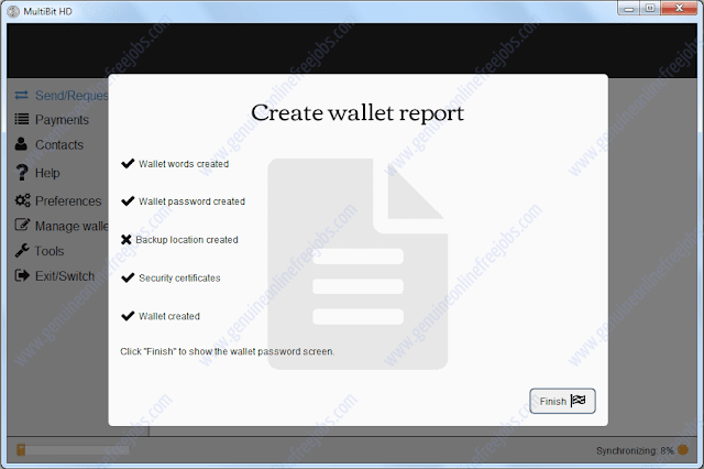 Setting up MultiBit HD bitcoin wallet-4