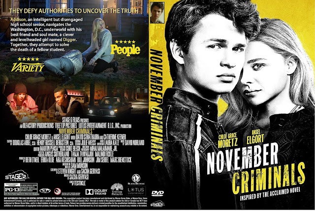 November Criminals DVD Cover
