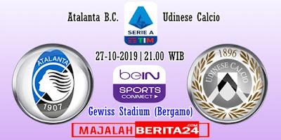 Prediksi Atalanta vs Udinese — 27 Oktober 2019
