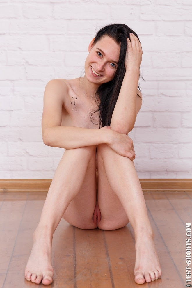 [Test-Shoot.Com] Nora - Countryside Teengirl Poses In Nude Casting - idols