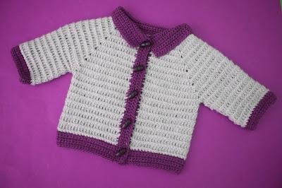 3 - Crochet imagen Chaleco con mangas para niño a crochet y ganchillo por Majovel Crochet