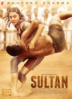 Anushka Poster : Movie Sultan