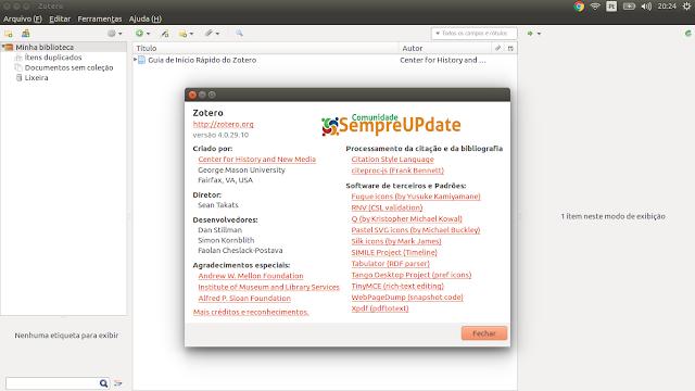 Como instalar Zotero no Ubuntu, Linux Mint e derivados!