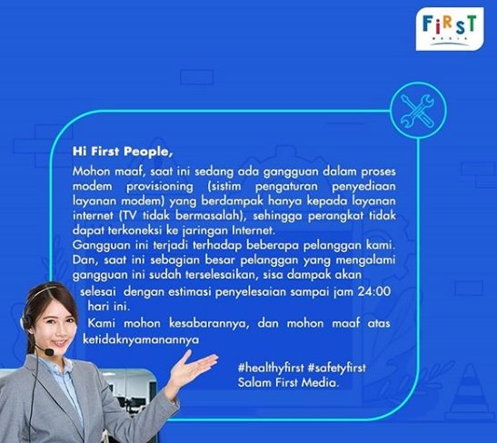 Fakta First Media Down - IGfirstmediaworld